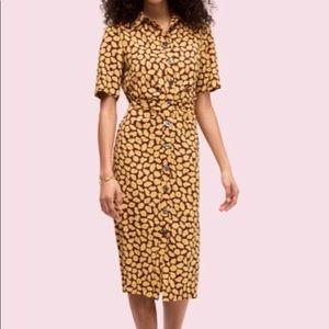 Kate Spade Sunny Bloom Midi Dress size2